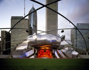 Millenium Park, Chicago, IL, USA. The City of Chicago.